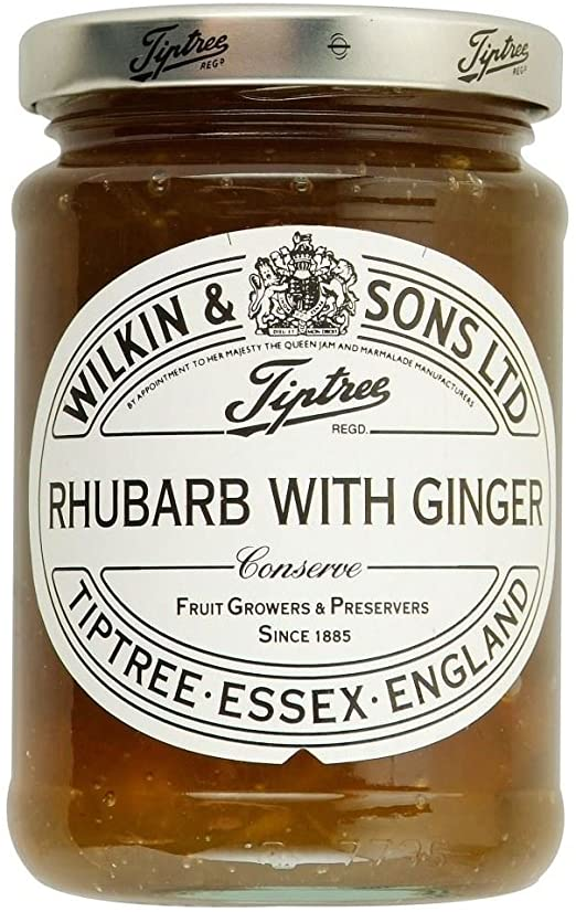 Wilkin & Sons Tiptree Rhubarb & Ginger Conserve 340g