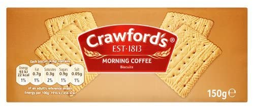 Crawfords Morning Biscuits 150g