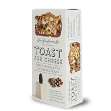 The Fine Cheese Co - Toast for Cheese - Dates, Hazelnuts and Pumpkin Seeds 100g - BritShop