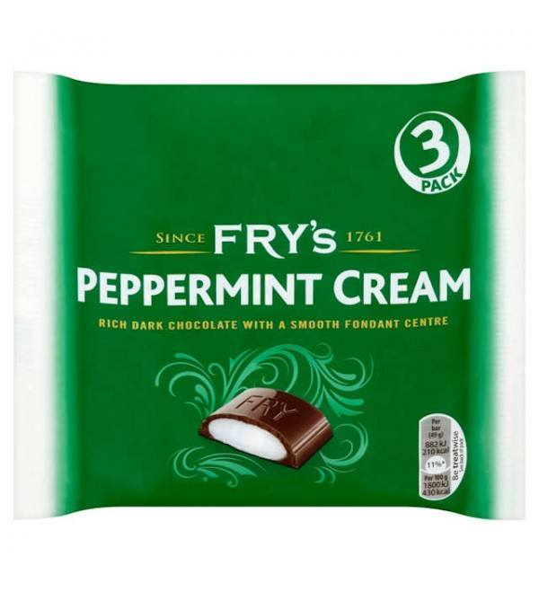 Frys Peppermint Cream 3pack