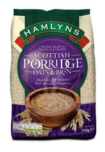 Hamlyns Scottish Porridge Oats & Bran - BritShop