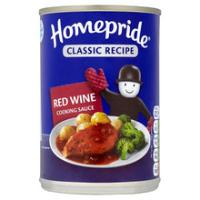 Homepride Can Red Wine Sauce - BritShop