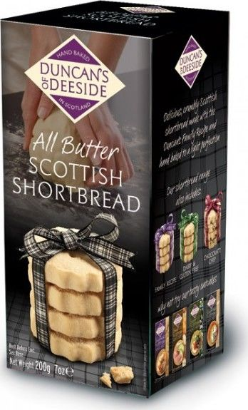 Duncan's of Deeside All Butter Scottish Shortbread 200g - BritShop