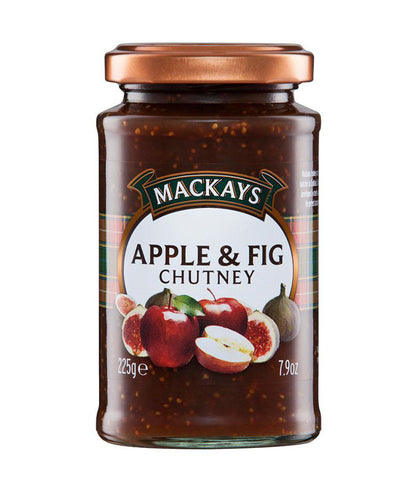 Mackays Apple and Fig Chutney  225g - BritShop