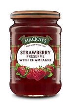 Mackays Strawberry Preserve with Champagne - BritShop