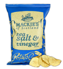 Mackies of Scotland Crisps Sea Salt & Vinegar 150g - BritShop