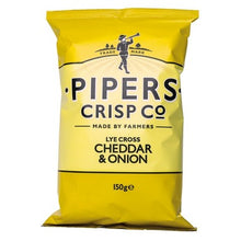 Pipers Crisps Cheddar & Onion 150g