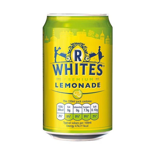 R Whites Lemonade 330ml