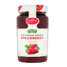 Stute No Sugar Added Strawberry Jam 430g - BritShop