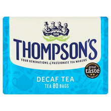 Thompsons Decaffeinated Tea Bags 80s - BritShop