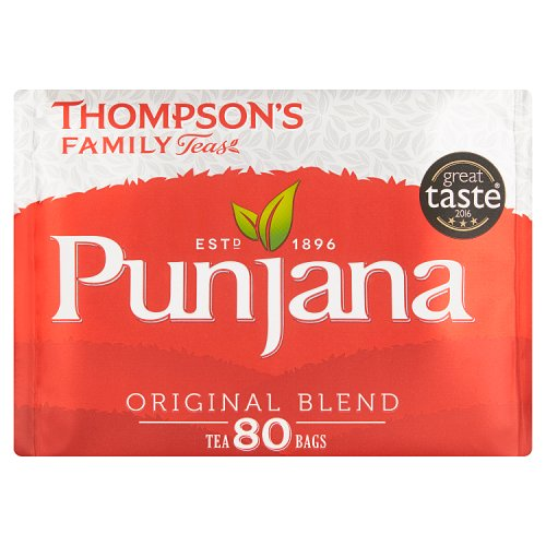 Thompsons Punjana Tea Bags 80s - BritShop