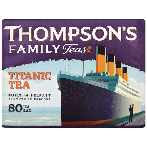 Thompsons Titanic Tea Bags 80s - BritShop