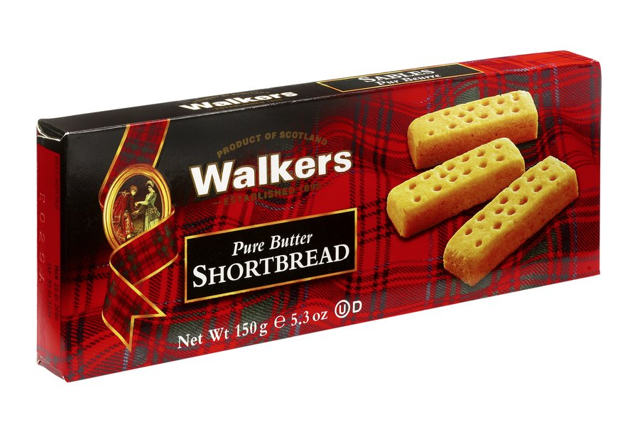 Walkers Shortbread Fingers 150g - BritShop