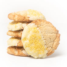 Load image into Gallery viewer, Lemon Cookie Dipped in White Chocolate (6 per Order)