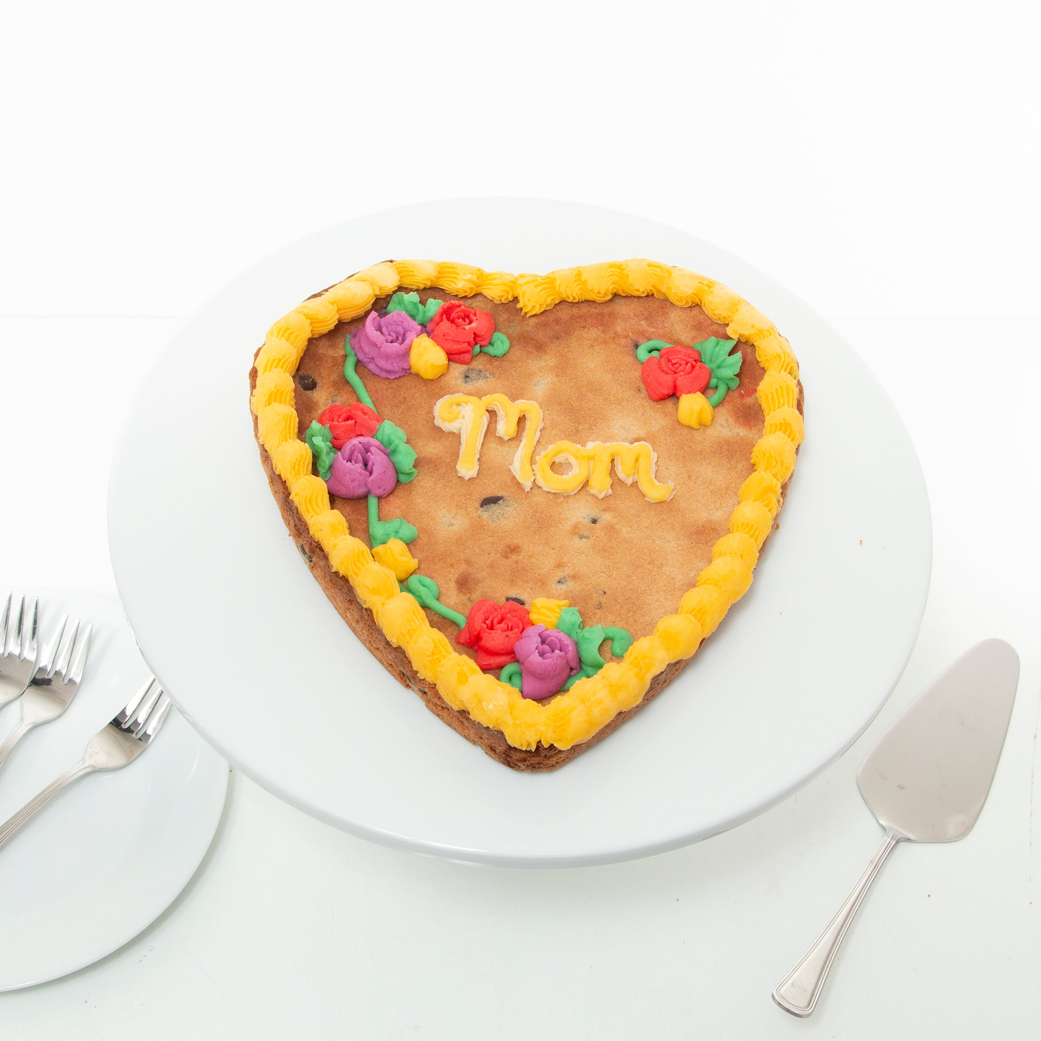 Mother's Day Heart Cake