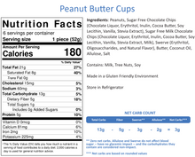 Load image into Gallery viewer, Peanut Butter Cups (6 per Order)