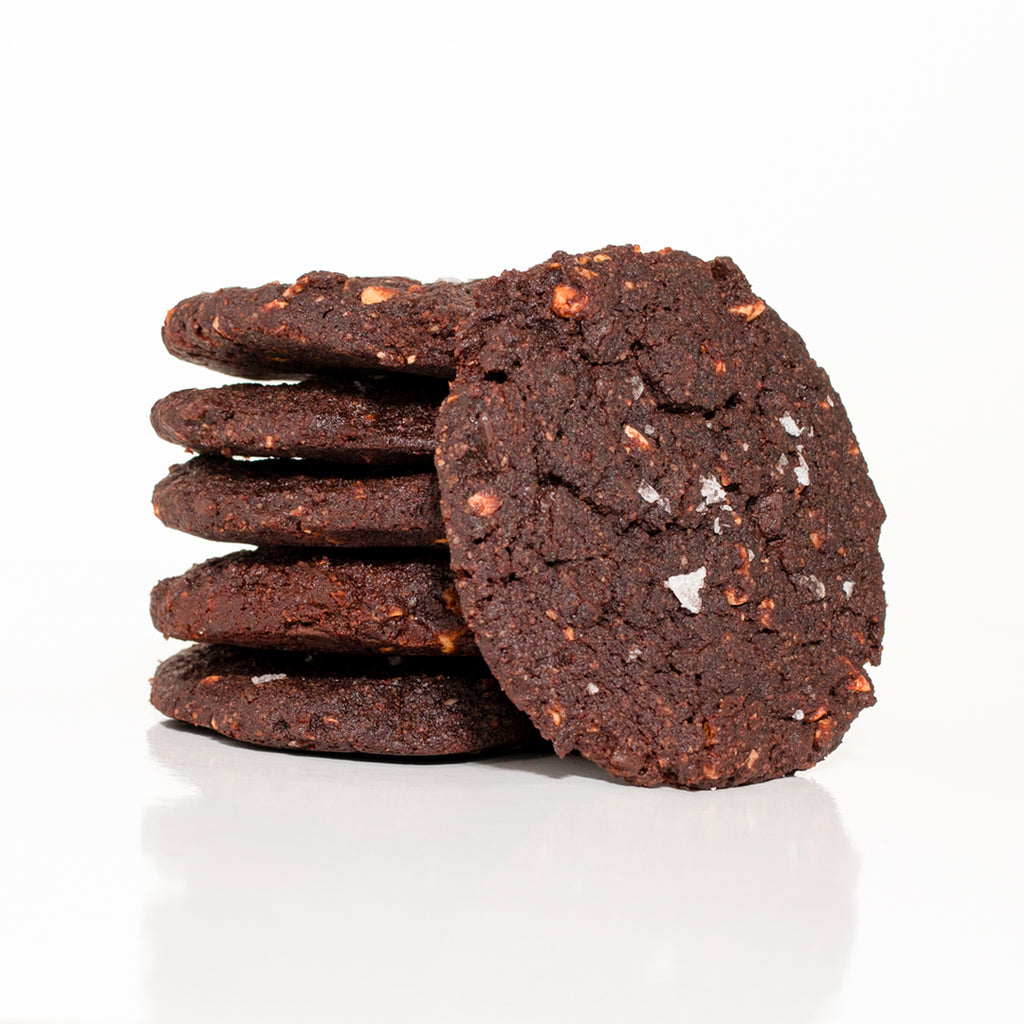 Double Chocolate Hazel Nut Cookies (6 Per Order)