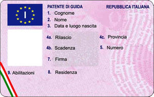 Führerschein (IT) patente di guida italiana