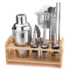 12 pcs. Stainless Steel Tool Bar Set