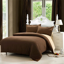Load image into Gallery viewer,  4Pcs Solid Color Bedding Set