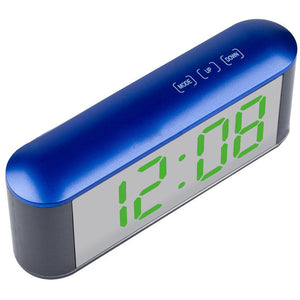 Digital Time Display Touch LED Mirror Clock