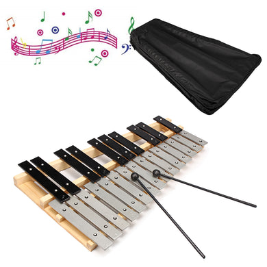 25 Note Glockenspiel Xylophone Educational Musical Instrument
