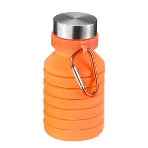 550ML Folding Water Bottle with Carabiner