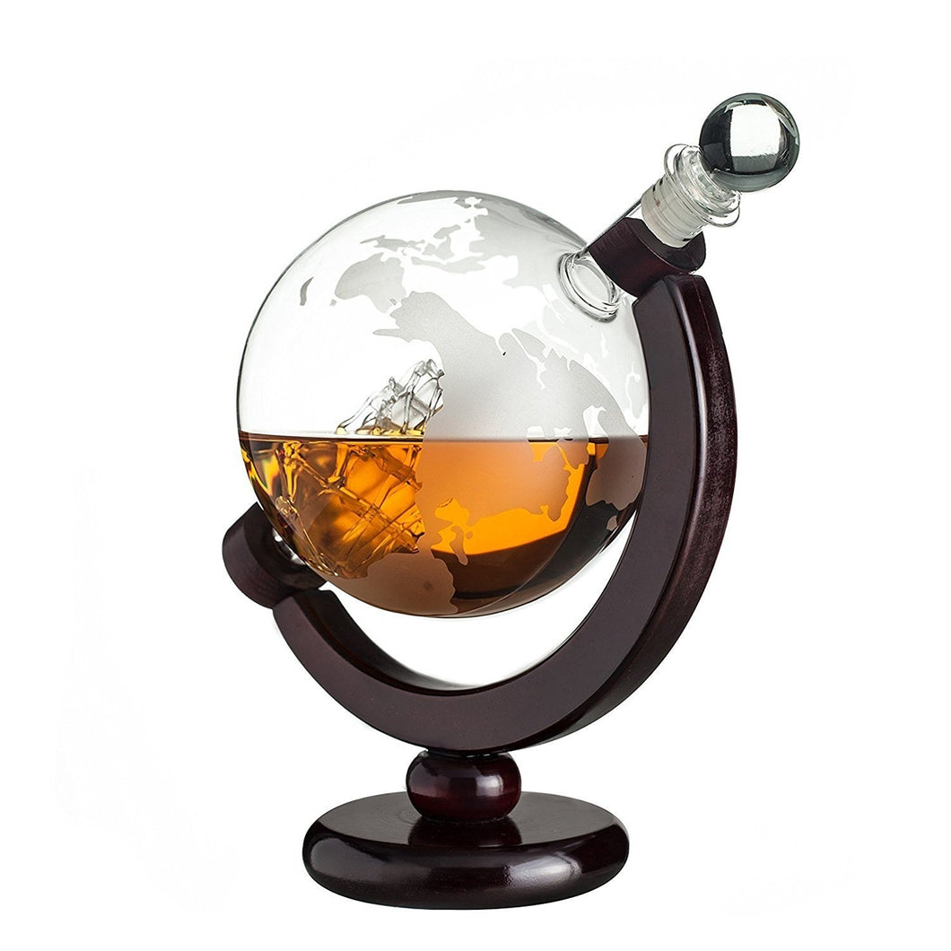 Globe Glass Decanter