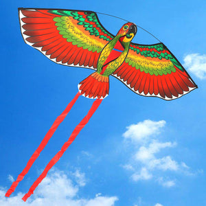 Outdoor PolyesterFlying Kite Bird with String Spool