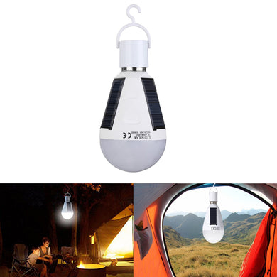 LED Rechargeable Light Bulb Tent Camping Emergency Lamp with Hook