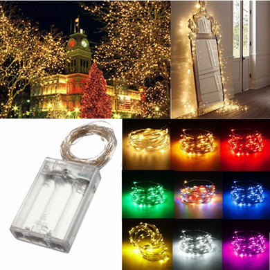 4M 40 LED Silver Wire Fairy String Light