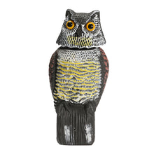Load image into Gallery viewer, Artificial Resin Owl with Rotating Head
