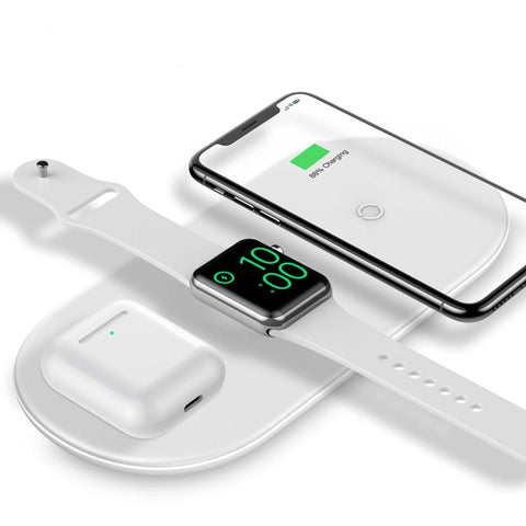 Apple 3-In-1 Fast Wireless Charger for iPhone Airpods & Apple Watch