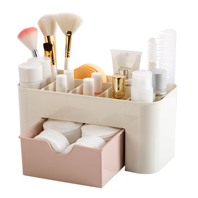 Multi-functional Plastic Cosmetic Storage Box