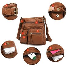 Load image into Gallery viewer, Casual PU Leather Crossbody Bag
