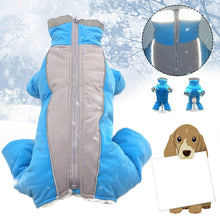 Load image into Gallery viewer, Waterproof Reflective Warm Pet Dog Coat