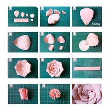 Load image into Gallery viewer,  DIY Paper Flowers Leaves Backdrop