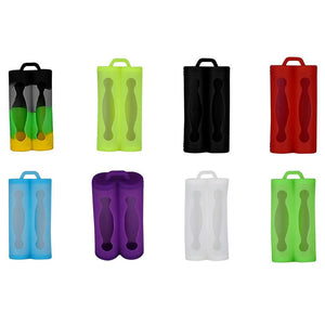 Dual Battery Silicone Cases Protective Covers