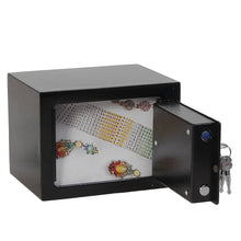 Load image into Gallery viewer, Iron Steel Black Key Operated Safe Box
