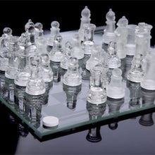 Load image into Gallery viewer, High-end Elegant Glass Chess Game Set