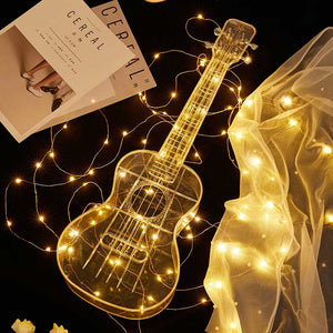 23 Inch Transparent Acrylic Clear Ukulele