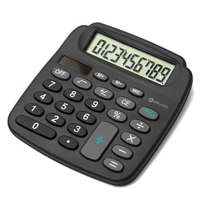 Solar Power Energy HD LCD Electronic Mini Calculator