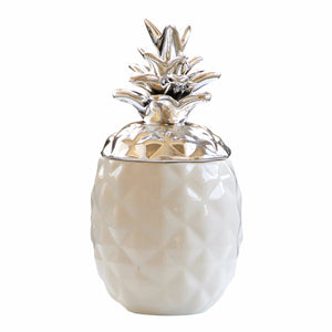 Ceramic Chic Pineapple Jar Storage Canister