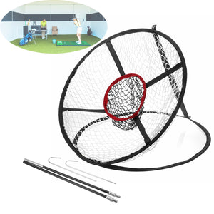 65x 54CM Foldable Golf Chipping Pitching Practice Net