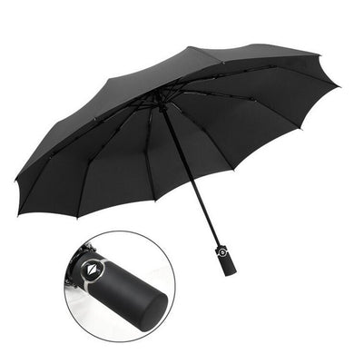 10 Ribs Fully Automatic Folding Umbrella