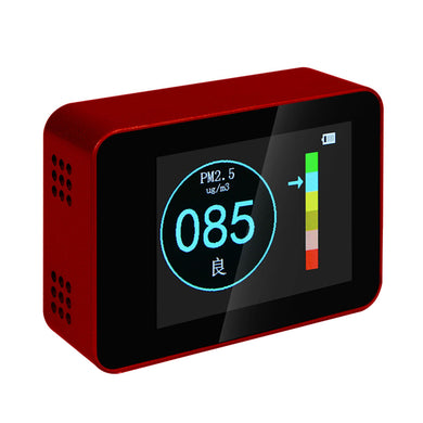 Laser PM2.5 Detector LCD Portable Air Quality Tester