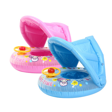 Inflatable Sunshade Baby Kids Water Float