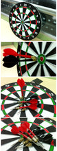 "Load image into Gallery viewer, 12""x1/2"" Paper Dartboard - Zalaxy"