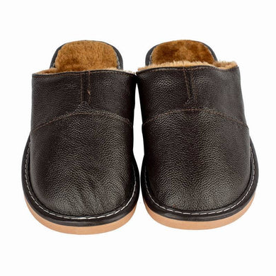 Men Warm Plush Slipper Boots