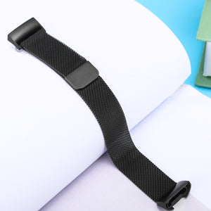 Replacement Stainless Steel Watch Band for Fitbit Charge 3